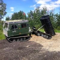 Hagglund Dump Box