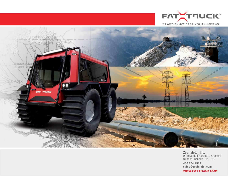 Fat Truck Brochure